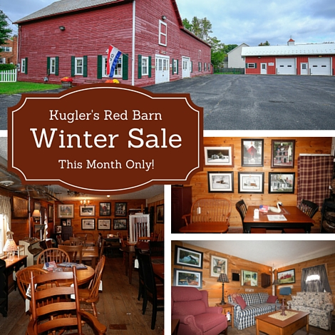 Kugler's Red Barn Monthly Special